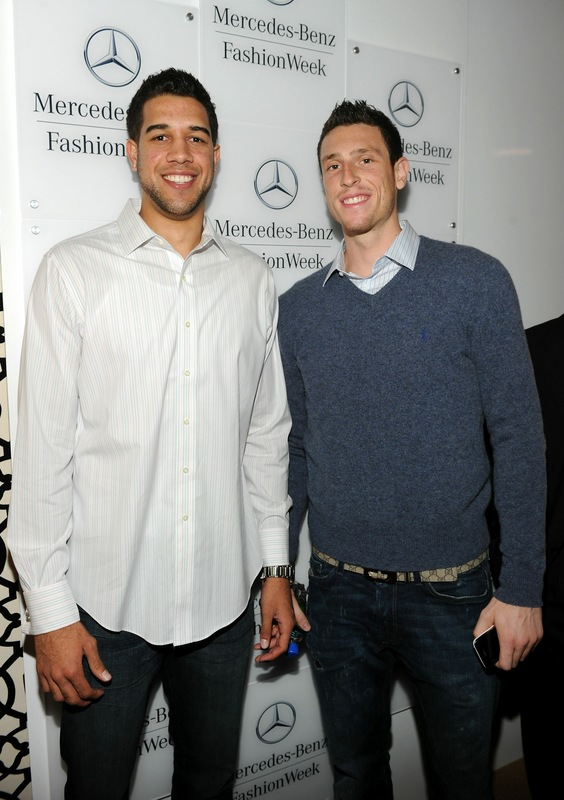 landry fields girlfriend. Landry Fields and Andy Rautins